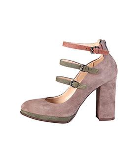 Sapatos em Pele Made in Italy® |  Cinza