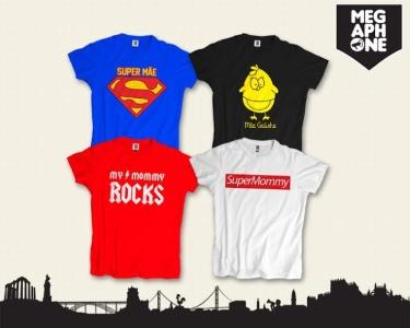 T-shirt Especial Dia da Mãe  | Um Presente Original!