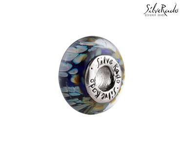 Conta Opal Fusion Silverado® | Cristal Murano e Prata de Lei