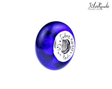 Conta Indigo Dreaming Silverado® | Cristal Murano e Prata de Lei