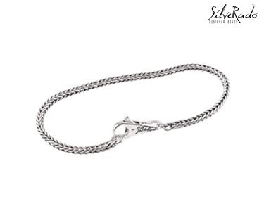 Pulseira Prata de Lei Silverado® | 18 cms
