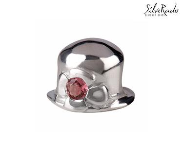 Conta Chapéu Silverado® | Prata de Lei e Pedras Turmalina