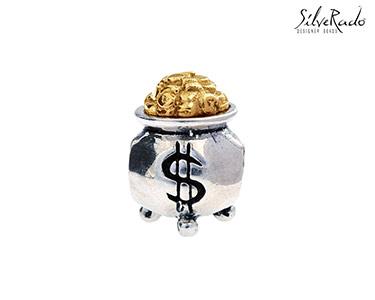 Conta Pote de Ouro Silverado® | Ouro e Prata de Lei