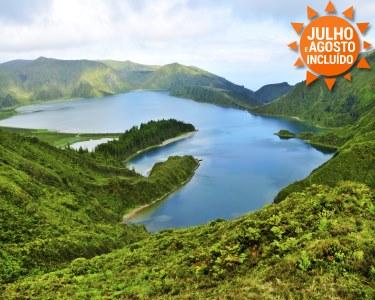 Escapadinha aos Açores   Voos + 2 Noites