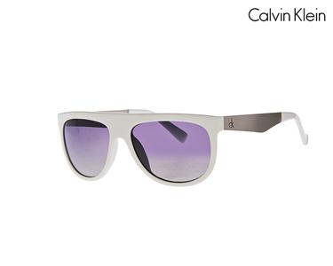 Óculos de Sol Calvin Klein® para Homem   Branco