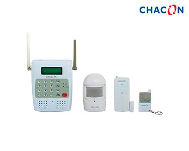 Chacon® Kit Alarme Sem Fios c\ Ligação Cartão SIM