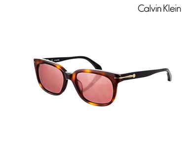 Óculos de Sol Calvin Klein® para Mulher | Havana preto