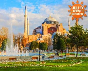 Verão na Turquia | Istambul + Capadócia | Voos + 7 Noites