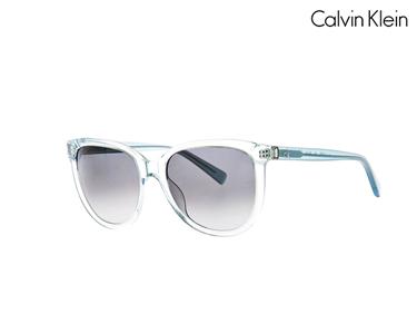 Óculos de Sol Calvin Klein® para Mulher | Transparente-azul