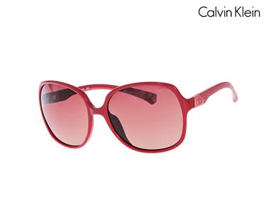 Óculos de Sol Calvin Klein® para Ela | Vermelho
