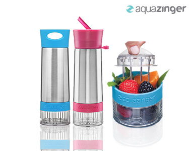 AquaZinger | Sumo Natural feito na Hora!