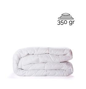 Edredon branco 350 Gramas 1,80 Cm x 2,20 Cm