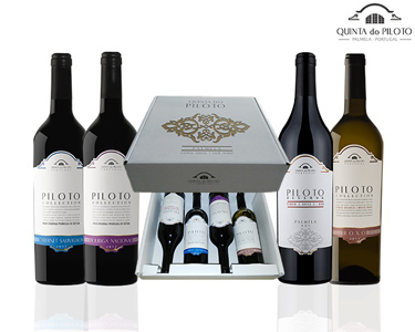 Pack Vinho Quinta do Piloto | 1 Garrafa Reserva + 3 Collection