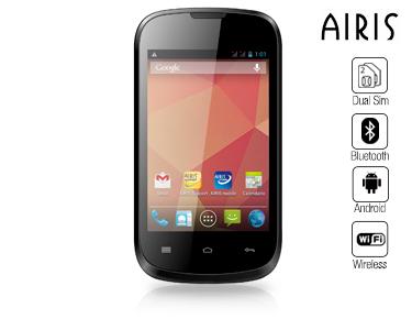 Smartphone 3G Airis | TM360 3.5' Android, Dualcore, Dual SIM