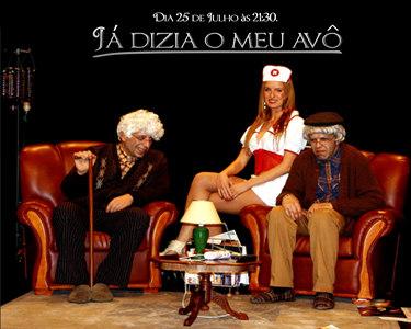 «Já Dizia o Meu Avô» | João Seabra & Miguel 7 Estacas | Villari-Te | Teatro Villaret