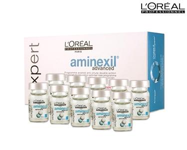 Aminexil Advanced | Anti Queda 10X6 ml | L´Oréal Expert Professionnel