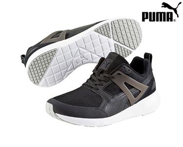 Ténis Puma® Aril Preto e Branco | Adulto