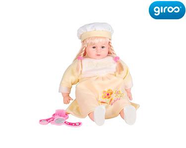 Bebé Vestido Amarelo | Com Acessórios e Sons!