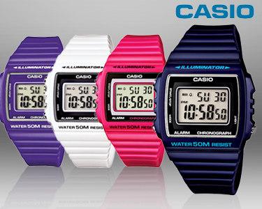 Relógio Casio® Illuminator   Cores à Escolha