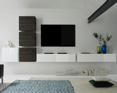 Sala Living Cube Suspensa | Escolha a Cor