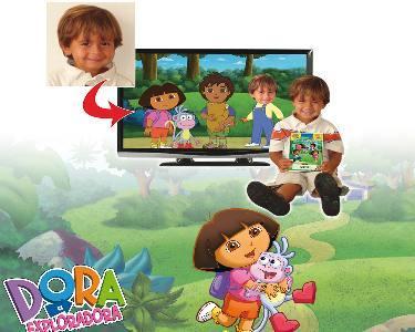 DVD Dora Exploradora Personalizado