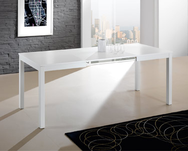 Mesa de Jantar Extensível Eko Branco