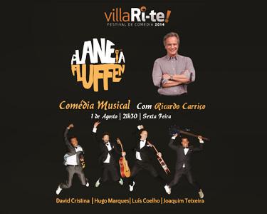 «Planeta Fluffen» | Comédia Musical com Ricardo Carriço | Villari-Te | Teatro Villaret