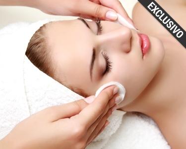 Rosto Perfeito! Recupere a Pele Após o Verão | Limpeza + Hidratação + Ionização | 6 Clínicas