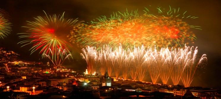 Festeje o Fim de Ano na Madeira | Voos + 4 Noites | Porto e Lisboa