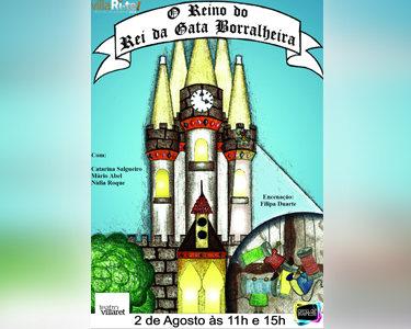 «A Gata Borralheira» | Teatro Infantil | Villari-Te | 2 Pessoas