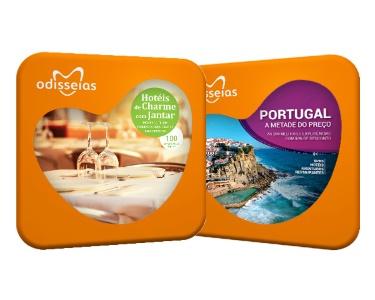 2 Presentes: Hotéis de Charme com Jantar + Portugal a Metade do Preço