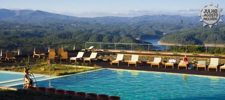 Hotel da Montanha 4* | 1 a 5 Noites de Verão & SPA c/ Opção Jantar junto ao Zêzere!