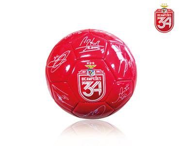 Bola com Assinaturas Bicampeão