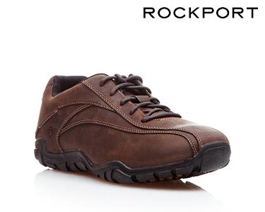 Sapatos Casuais Rockport® BikeFront   Castanho Escuro