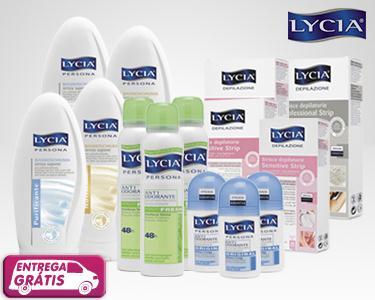 Cabaz Lycia - 14 Produtos de Beleza