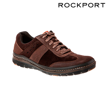 Ténis Rockport® ActiveFlex Castanho | Chocolate