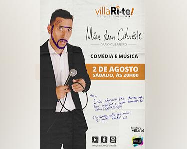 «Mocê dum Cabréste» | Comédia e Música | Villari-Te | Teatro Villaret