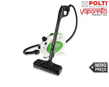 Máquina Vaporetto Pocket 2.0 da Polti® | Limpeza a Vapor
