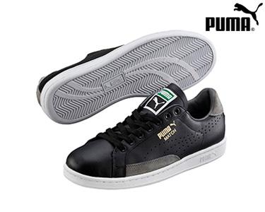 Ténis Puma® Match 74 Preto e Cinza|  Homem