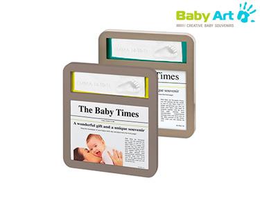 Moldura Baby Times   Baby Art®