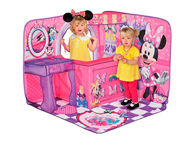 Tenda 3D Infantil | Cenário Boutique da Minnie ou Jake e os Piratas