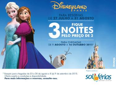 Disneyland Paris® | Verão Frozen |  Voos + Alojamento + Entradas