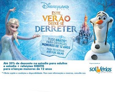 Verão Frozen | Disneyland Paris® | Alojamento + Entradas