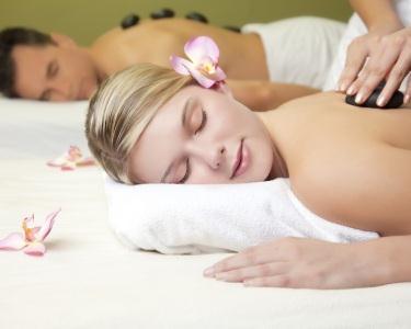 Massagem Hot Stones para Casal  - 1h
