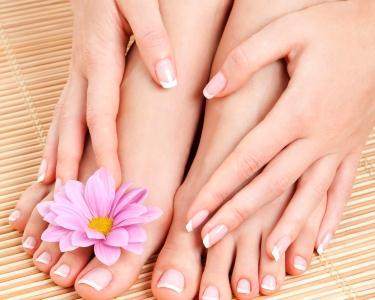 Manicure+Pedicure+Reflexologia 1h