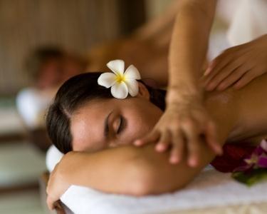 Massagem a 2 - Pedras Semi Preciosas