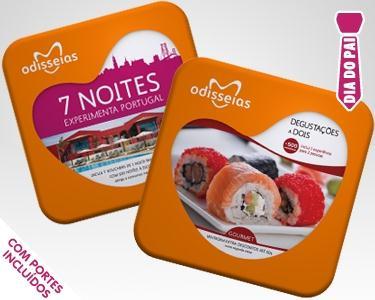Cabaz Gourmet & 7 Noites a Dois