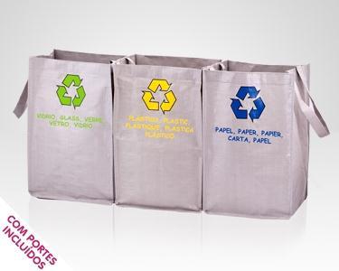 Sacos Reciclagem - Amigos do Ambiente