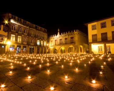 Noite Especial a Dois com Jantar em Guimarães