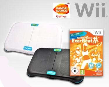 PlayBoard & Jogo Wii ExerBeat